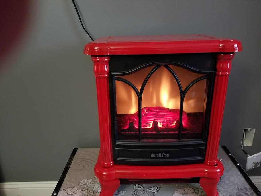Small Fire With Heat For Winter