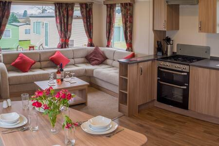 Brand new modern caravan. Sleeps 6. - Cornwall