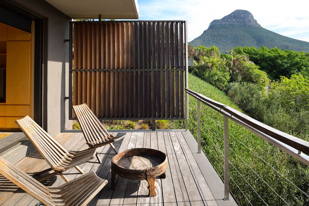 nature lovers studio on the foot of table mountain wohnungen zur miete in kapstadt westkap. Black Bedroom Furniture Sets. Home Design Ideas