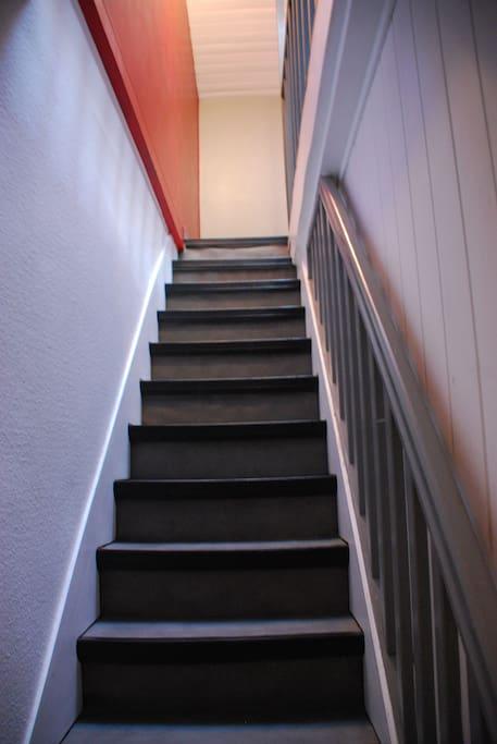2 ème étage sous les combles
