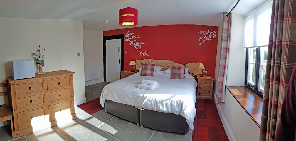 AA 4* B&B, The Red room, breakfast included