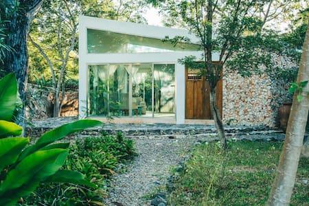 Private Cenote Solar Powered Cabana 1 at Hacienda