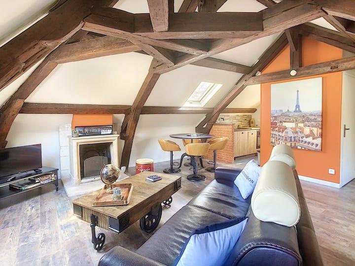 Un logement atypique en plein vieux Caen ❤️🏰⚜️⚔️🏛⚔️📸