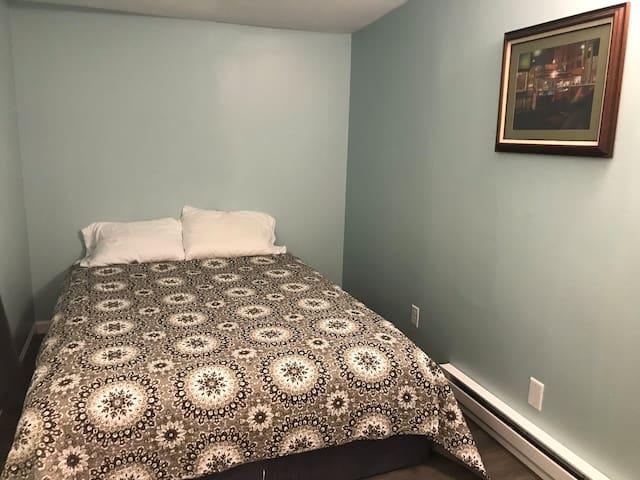 Bedroom #1. Queen sized bed