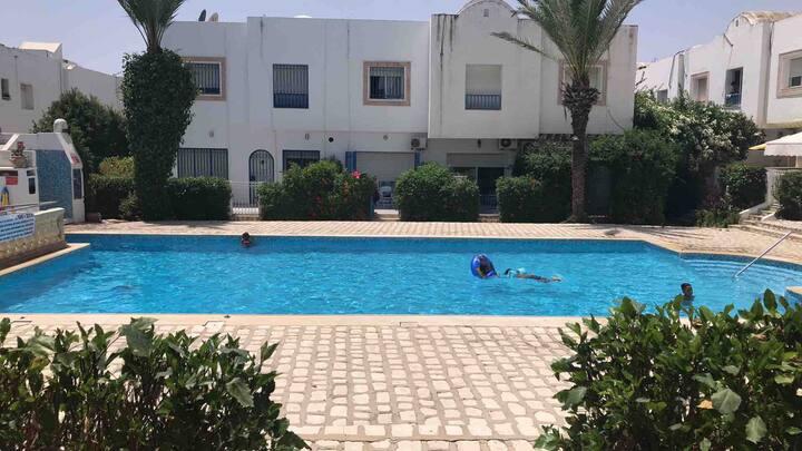 Villa s+1 résidence Mariam 2 hammamet
