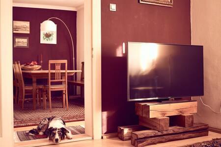 Wohnung im Stadtzentrum, liebevoll ausgestattet - Landshut - Társasház