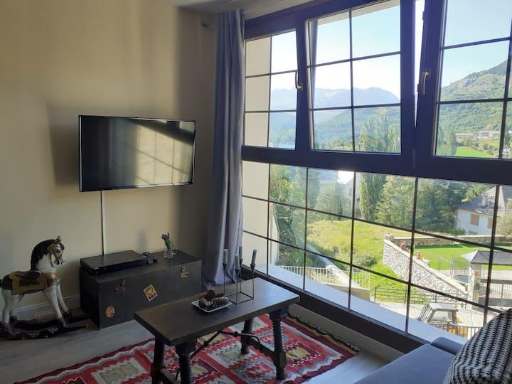 Apartamento con vistas en Sallent de Gallego
