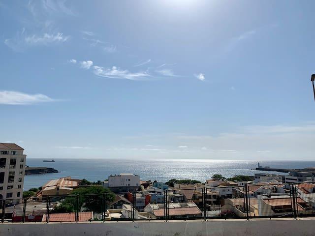 Safe, authentic and calm Praia apartment