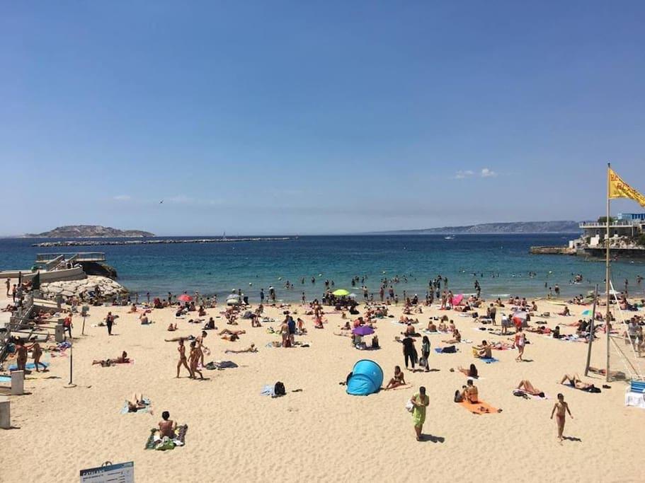 plage des catalans