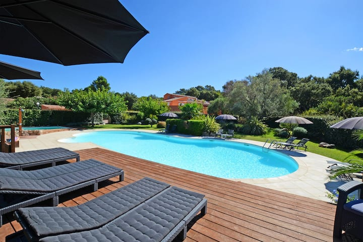 appartement 2/5pers piscine chauffée