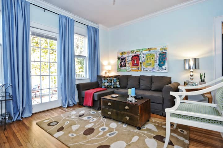 Corporate Apartment in Charlotte NC-Historic Dilworth
