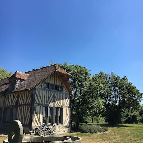 Belle dépendance en basse Normandie - Le Renouard - Haus