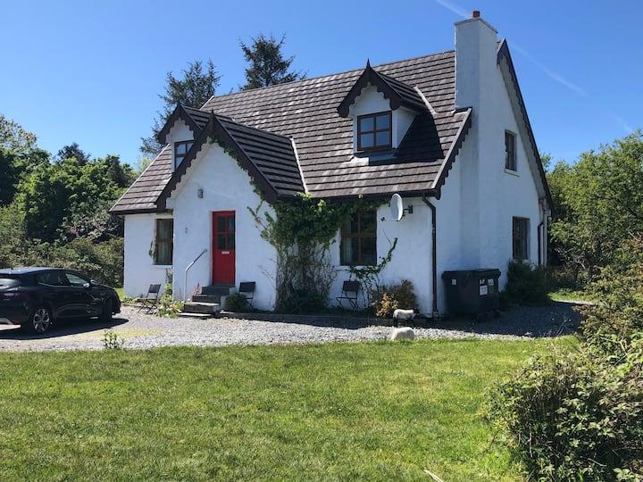Heatherhill Farm Cottages in Letterfrack village