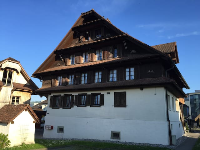 Old Swiss Farmerhouse Dream