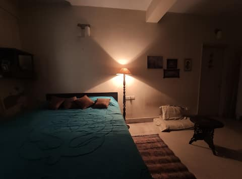 ★Independent,Quaint,Clean Haven,1 BHK with Patio★