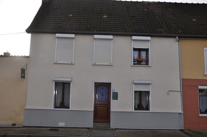 Aux eaux vives 2 - Location de chambres - Domart-en-Ponthieu - Casa