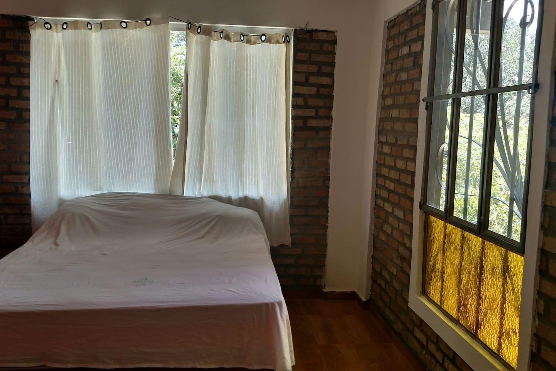 cama e janela
