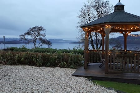 The Boathouse an apartment overlooking Loch Lomond
