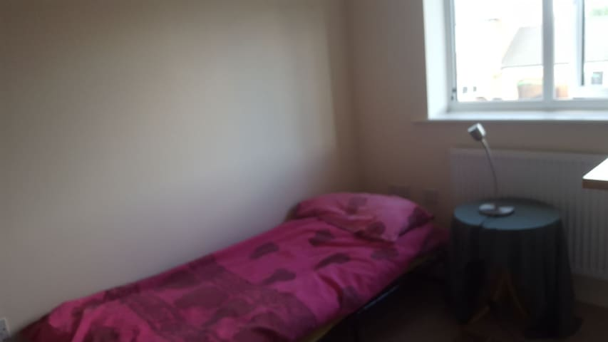 Single room in friendly shared house