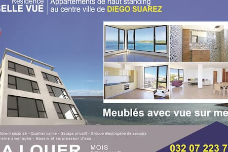 Diego Suarez - Location appartements - VUE MER