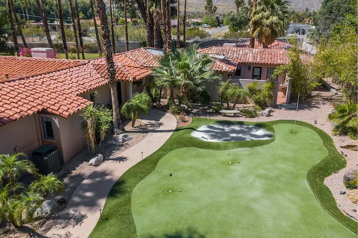 GORGEOUS SPANISH STYLE ESTATE [77 Palms Estate]