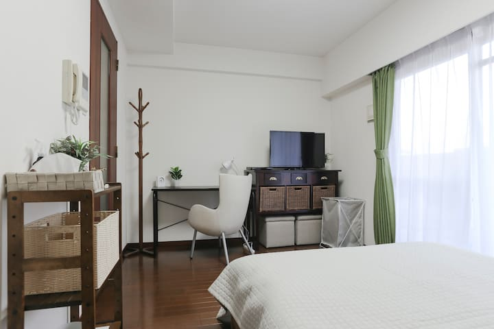 #4 Good location Cozy Apt+Free Wi-Fi - Nakagyo Ward, Kyoto - Appartamento