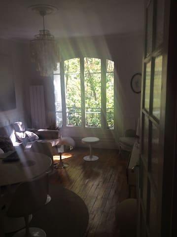 Chambre dans appartement Villette 19e