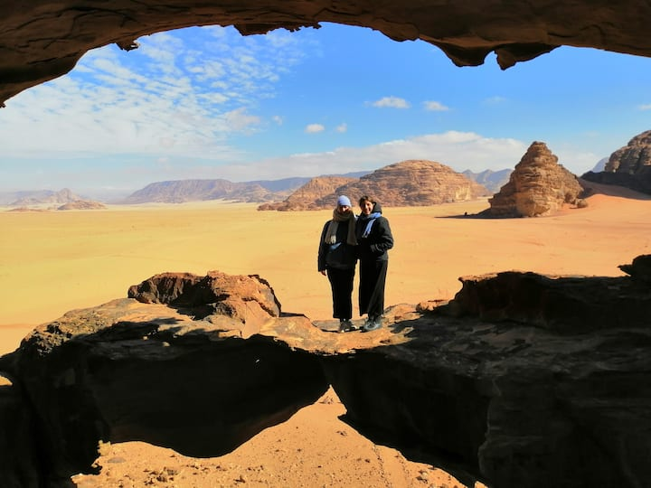 Live the authentic Bedouin experience of Wadi Rum