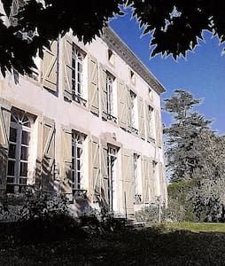 Landes : Ancienne Maison de Maître à Donzacq.