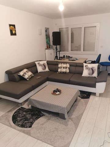 Appartement sympa dans résidence calme