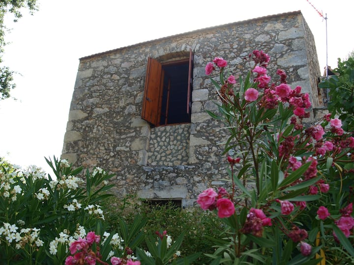 Traditional Greek Stone House