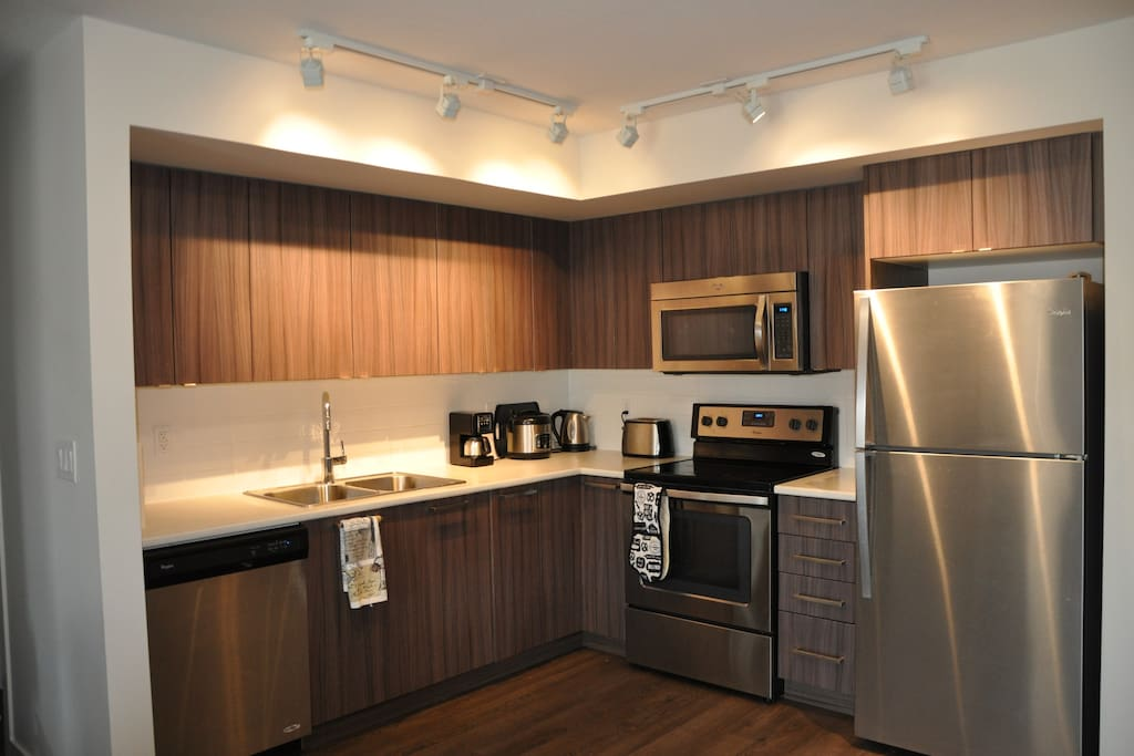 Kitchen shared by occupants of all 3 rooms
