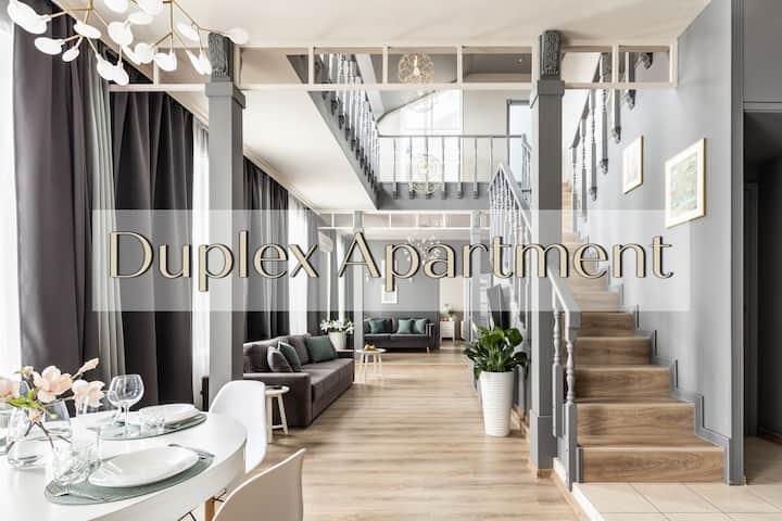 Duplex Apartment 150m2 (3 br with 3 bathrooms)