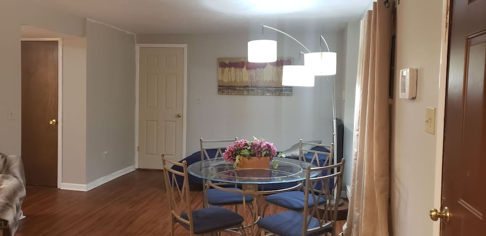 Comfortable basement suite with separate entrance.