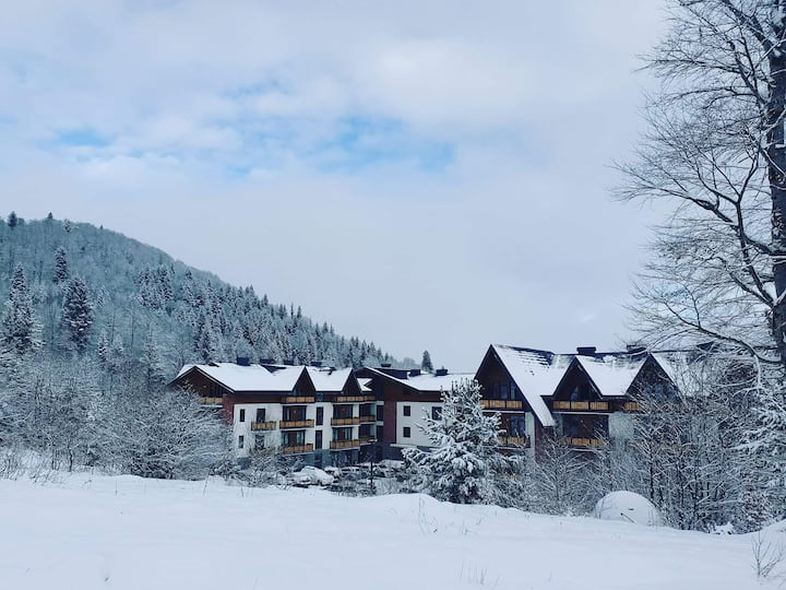 best apartment for skiing&relax in every season