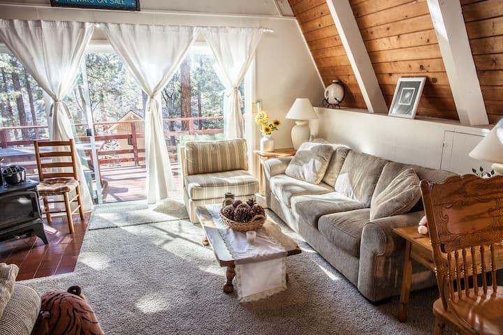 5 STAR Happy Bear Cabin. Close to town/ski resort
