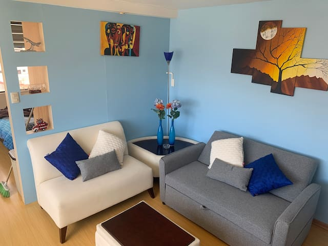 SUITE 1: COZY, FULL EQUIPPED, PLACE IN QUITO