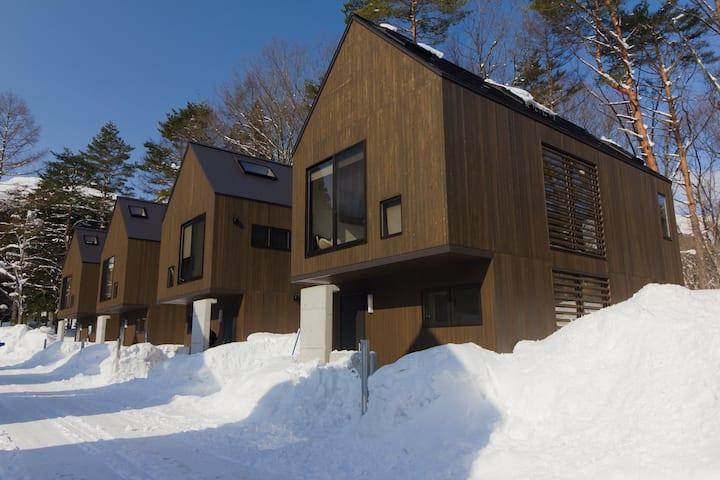 Gakuto Villas near Happo One ski resort
