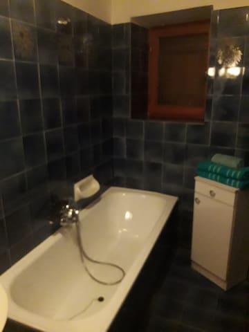 salle de bain 1: bleu/bagno 1: bagno blu
