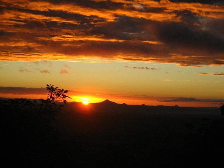 Spectacular Sunset Views from The Bird House