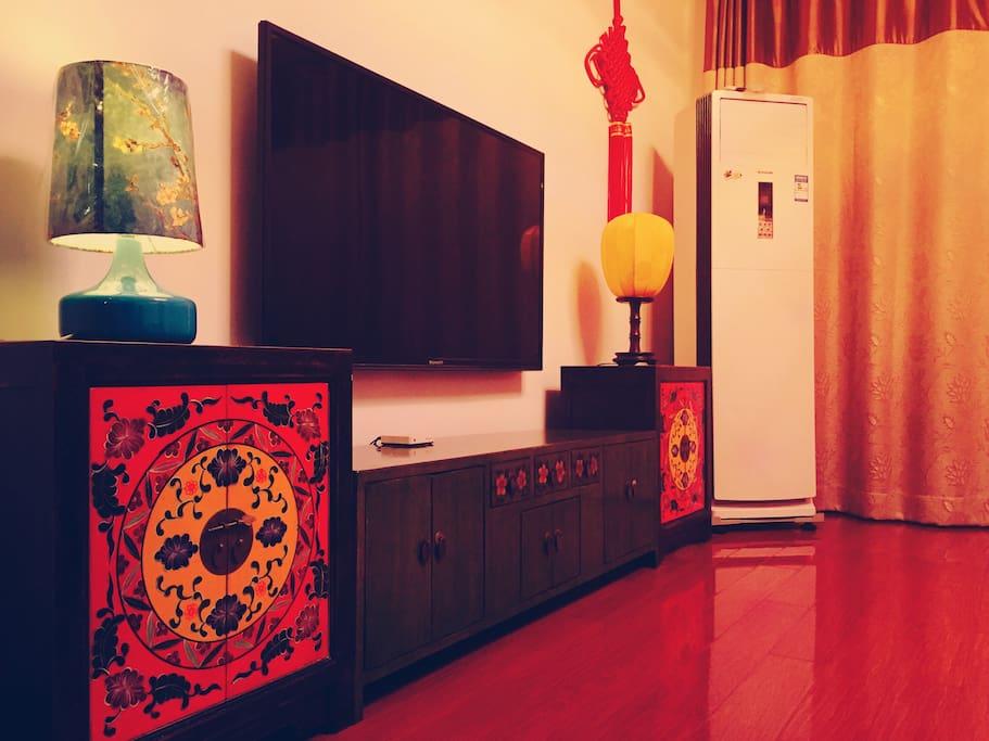 新中式的电视柜