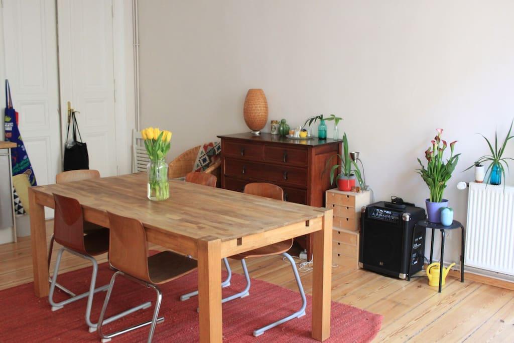 Wohnküche / Kitchen Living Room