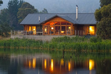 Currawong Lakes Owner's Lodge - Lake Leake - Natur-Lodge