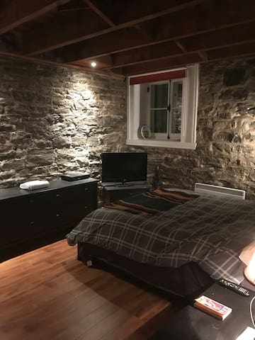 Superb condo in old Quebec, private room - double