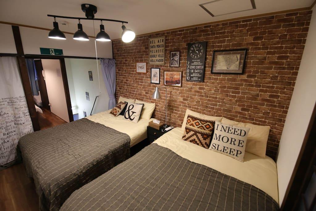 2F main room W bedX2