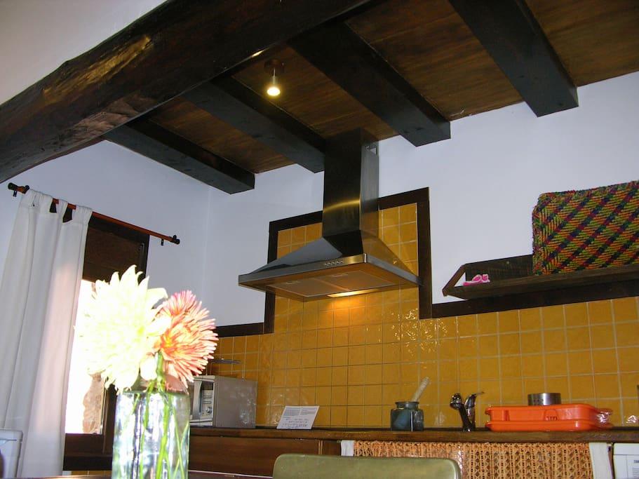 Cocina apartamento Turia.