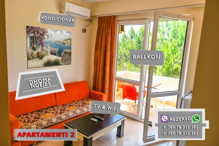 One bedroom apartment - Dielli Residence Albania
