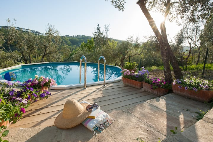 Villa Mary-romantic place near Chianti production