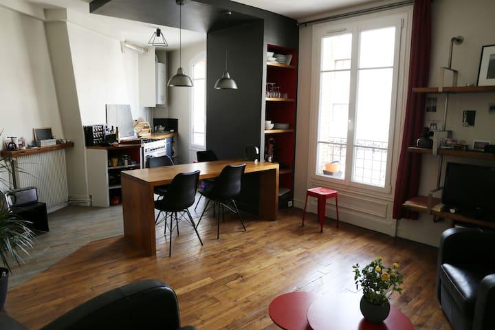 Jolie chambre privée, Boulogne Billancourt