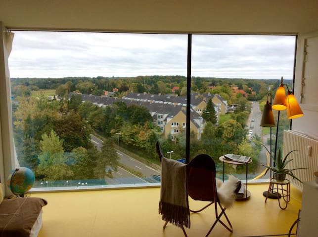 Amazing view from a cozy apartment! - Gentofte - Huoneisto